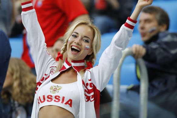 Why stereotypes of sexy women fans persist at the World Cup