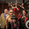 Tumbling, ceiling walks and teapot comedy: roll up for elders' circus