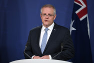 Prime Minister Scott Morrison is yet to be widely recognised by the person in the street.