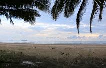 The beach at Lundu in southern Sarawak state.
