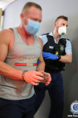The South Australian man allegedly shot another man in September last year.