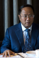 Controversial Chinese billionaire Huang Xiangmo.
