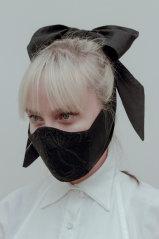 A face mask by Australian designer Gail Sorronda.