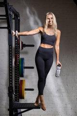 Pilates teacher and leggings aficionado Hannah Emmerson.