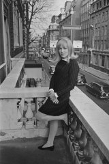 """Prue Acton in London in March, 1967.  """"We were soooo hungry for it all."""""""