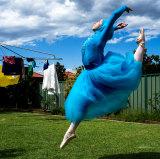 The 'hijabi ballerina', Stephanie Kurlow, modesty in motion.