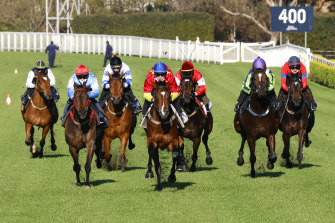 Racing NSW has kicked its COVID protocols into action after a scare at Randwick.
