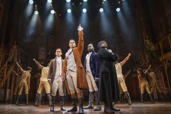 The Australian production of Hamilton has opened in Sydney to rave reviews.
