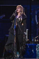 Black magic woman: Stevie Nicks at Rod Laver Arena.