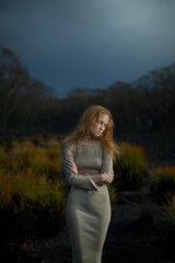 Styling: Jam Baylon; Model: Phoebe Collier; Makeup artist: David Waterman.
