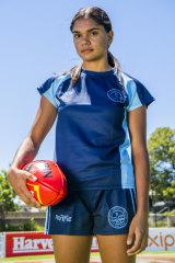 Madena Jaffer has AFLW dreams.