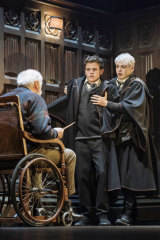 The play picks up 19 years after the Harry Potter books ended.