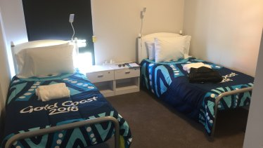 One of the residential village bedrooms.