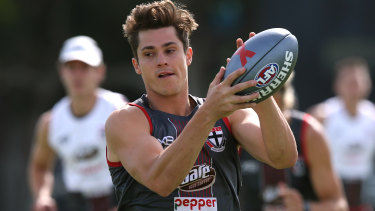Jack Steele prepares for Friday night's AFLX.
