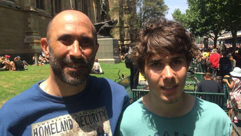 Ian and Jasper Hamm