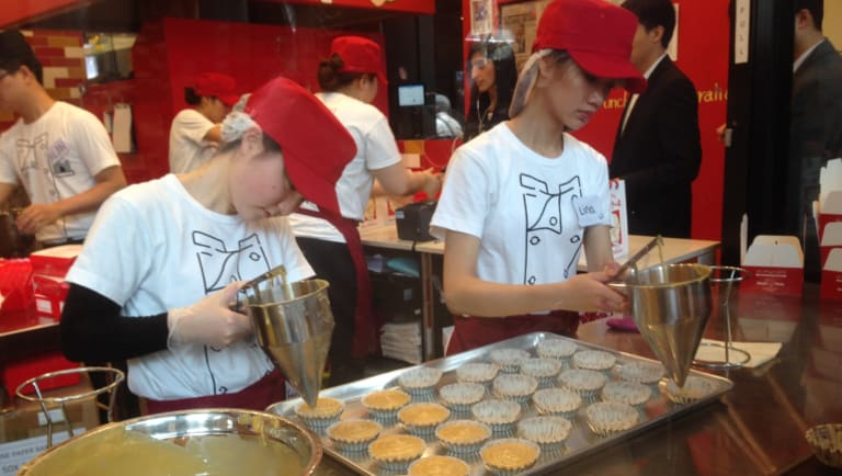 The Japanese are partial to cheesecake, which is good news for Bega.