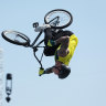 'That is crazy to me': Logan Martin wins gold in BMX freestyle