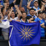 Greek fans evicted from Australian Open claim they were singled out