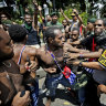 Indonesian police arrest Papuan independence figure for suspected treason