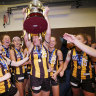 'A disgrace': Kennett threatens legal action over Hawks' AFLW snub