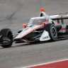 Scott McLaughlin third in IndyCar testing