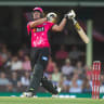 Sorry Sixers fall to Renegades despite defiant Curran knock