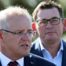 Scott Morrison urges 'quick link' tunnel to Melbourne airport