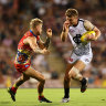 Darwin delight: Blues remain in finals hunt as Suns fade