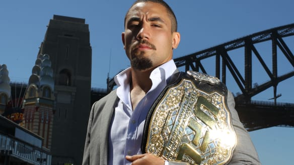 Whittaker to defend world title at UFC 225 in June