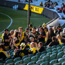 Talks to increase footy crowd capacity ahead of round two