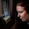 'She's my little girl': Tracy moved, but couldn't leave her treasured spider behind