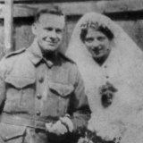 Charles Grinter and bride Grace.