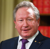 Businessman Andrew Forrest of the Minderoo Foundation.