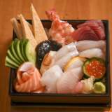 Kenzan's delicious and visually excellent sushi box.