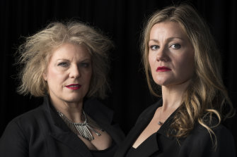Jacqueline Dark and Helen Sherman are two of the principals in Pinchgut's newly reworked Farnace.