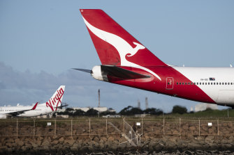 Virgin and Qantas have both had to lay off thousands of workers as a result of the COVID-19 crisis.