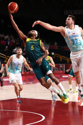 Mills played a key role  in the Boomers' best-ever Olympics result.