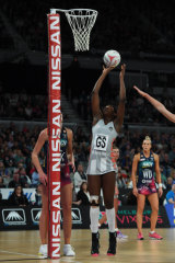 Shimona Nelson starred for the Pies.