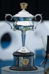 The women's trophy.