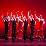 Dancers from the Australian Ballet School in 'Alegrias'.
