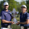 Aussies Leishman and Smith win Zurich Classic in a playoff