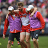 Swans make 'incredibly difficult decision' to delist Alex Johnson