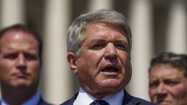 Representative Michael McCaul, a Republican from Texas, did not explain where his information on the matter came from.