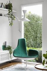 """Fjord"" chair by Spanish designer Patricia Urquiola for Moroso."