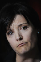 Jodi McKay leaves the Independent Commission Against Corruption (ICAC) in Sydney, May, 2014.