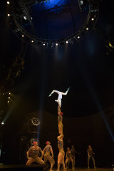 Cirque du Soleil has its pick of the world's elite acrobats, and they never fail to astonish.