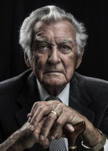 Memorable portrait: former prime minister Bob Hawke in 2016.