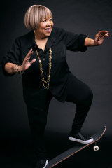 ''I did good.'' Mavis Staples decided to try skateboarding when she turned 80.