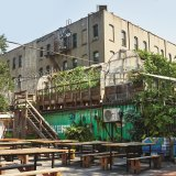 Chef Carlo Mirarchi cultivates food for his Brooklyn restaurant Roberta's / Blanca on a former used car lot.