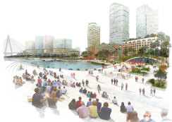 """The government's """"vision"""" for Blackwattle Bay has gone on public exhibition."""